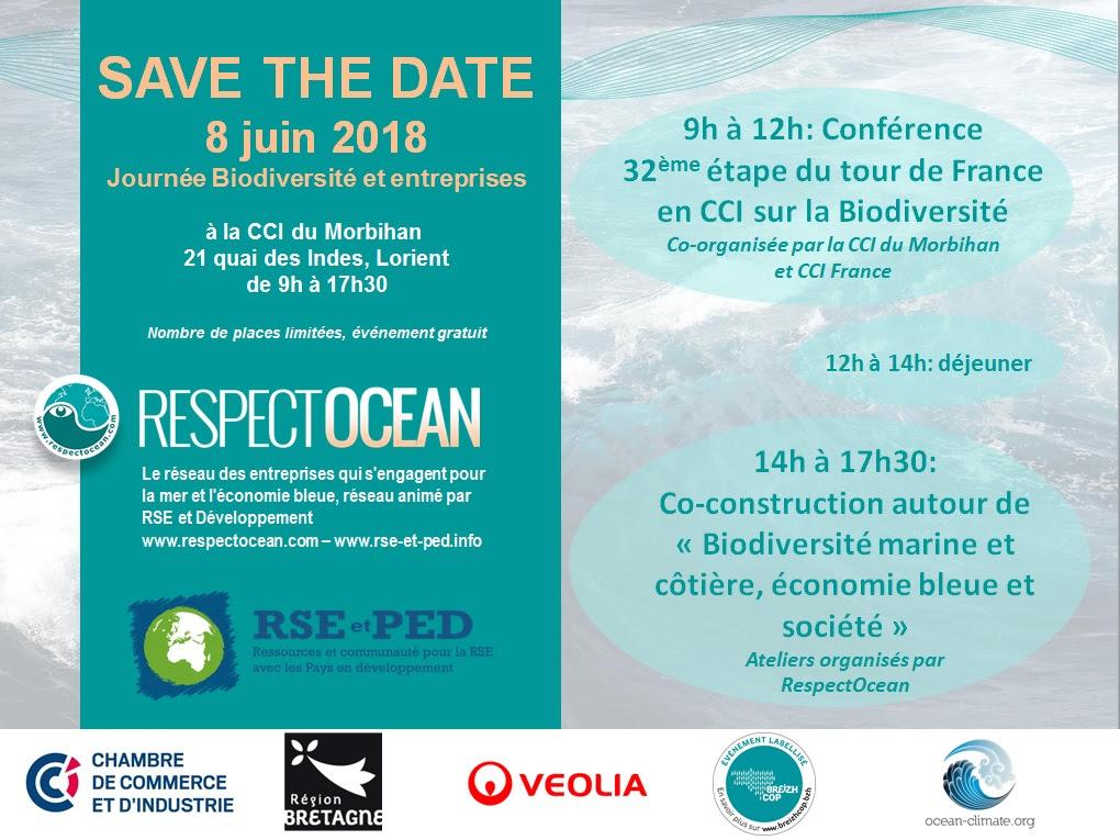 Save the date journ e biodiversit et entreprises le 8 juin lorient chambre de commerce - Chambre de commerce morbihan ...