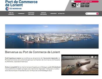 Le port de commerce de lorient en ligne chambre de for Chambre de commerce morbihan